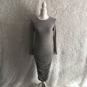JLUXLABEL grey dress